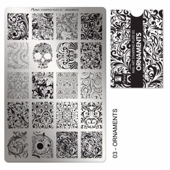 Stamping Plate 03 Ornaments