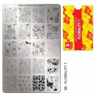 Stamping Plate 06 Florality 1