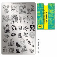 Stamping Plate 14 Moments