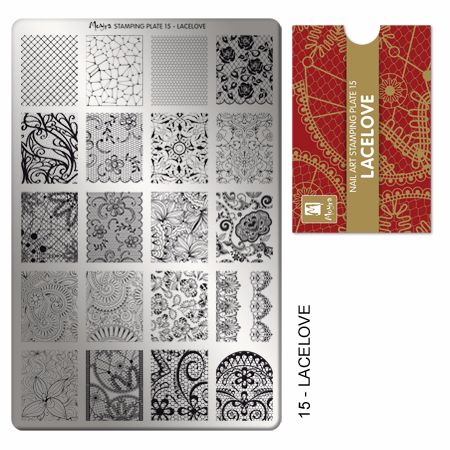 Stamping Plate 15 Lovelace