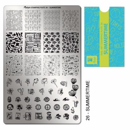 Stamping Plate 26 Summertime