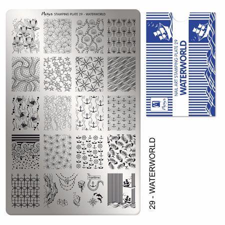Stamping Plate 29 Waterworld