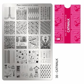 Stamping plate 30 Catwalk