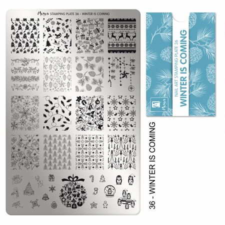 Stamping plate 36 Winter is coming