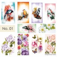 Water Nail Art Stickers 01