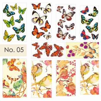 Water Nail Art Stickers 05