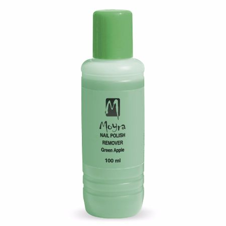 Acetone Free Polish Remover - Green Apple 100ml