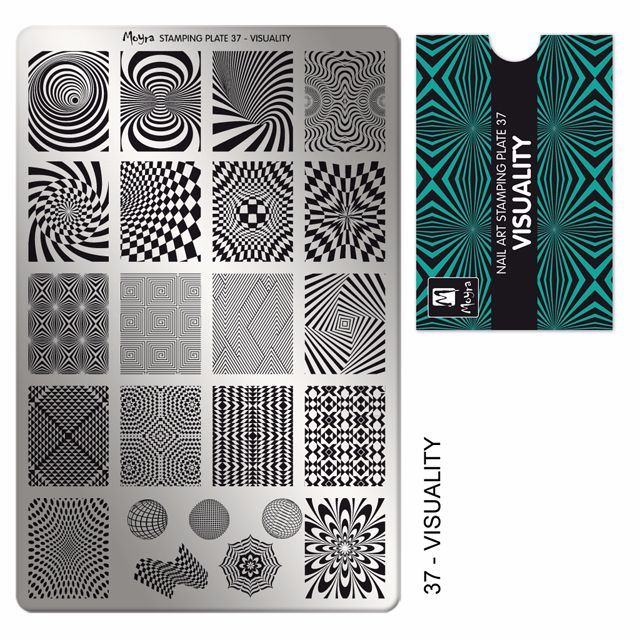 Stamping plate 37 Visuality