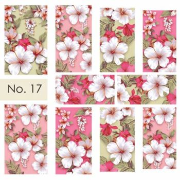 Water nail art stickers 17