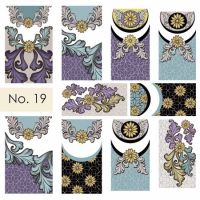 Water nail art stickers 19