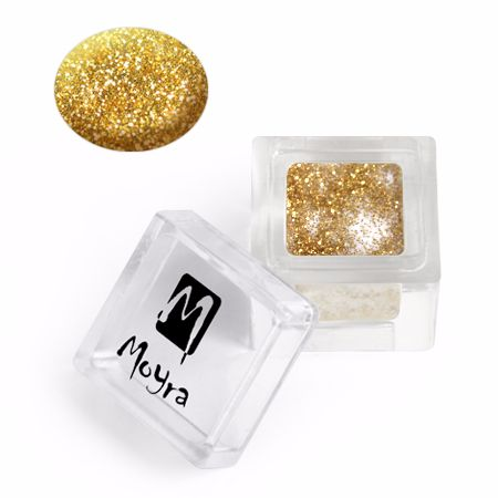 Coloured Acrylic 107 Glitter collection - Gold Shimmer 3.5g