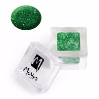 Coloured Acrylic Glitter collection 108 Green Shimmer 3.5g