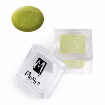 Coloured Acrylic Glitter collection 112 Glitter Green 3.5g