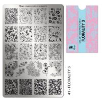 Stamping Plate 41 Florality 3