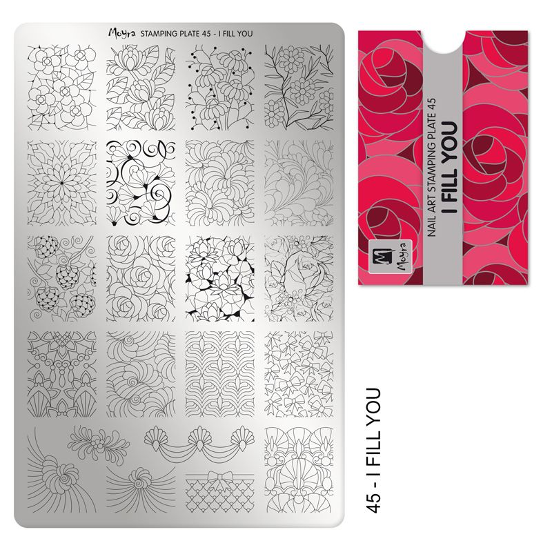 Stamping Plate 45 I Fill You