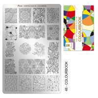 Stamping Plate 48 Colourbook
