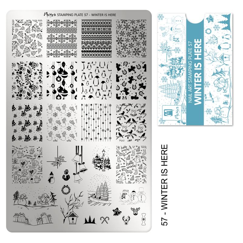 Stamping Plate 57 - Winter Is Here