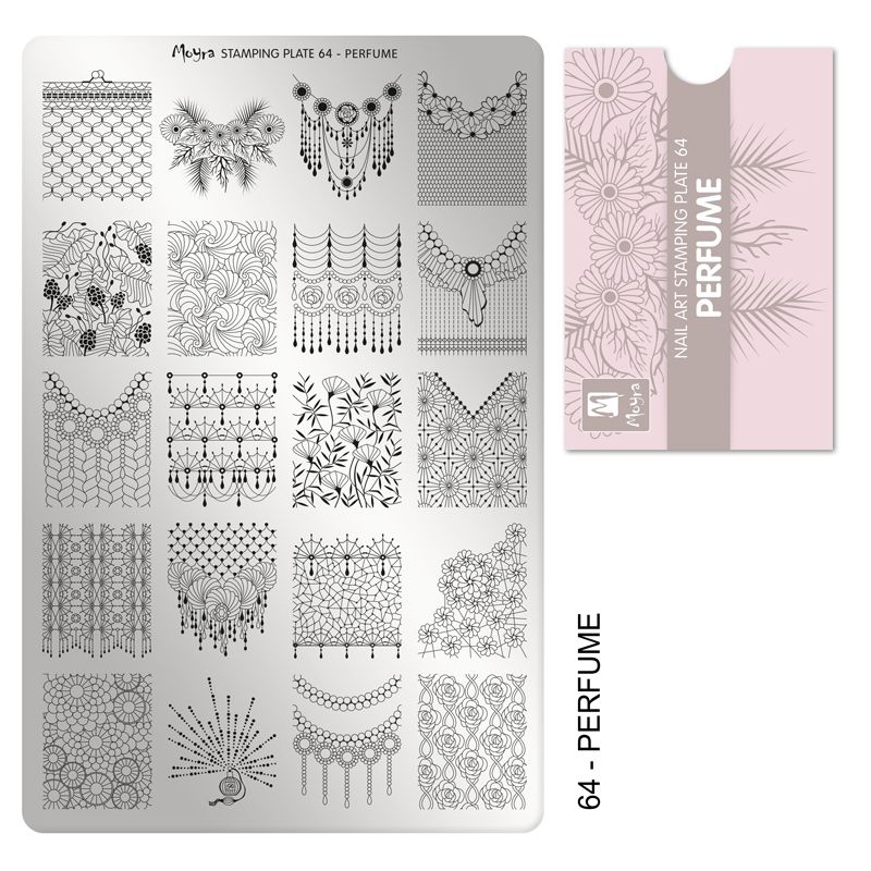 Stamping Plate 66 - Perfume