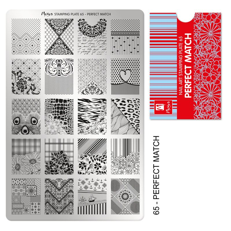 Stamping plate 65 - Perfect match