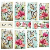 Water Nail Art Stickers 28