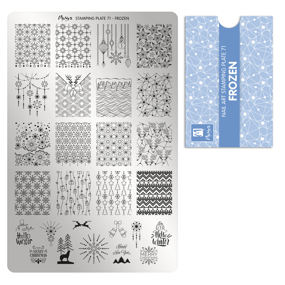 Stamping Plate 71 Frozen