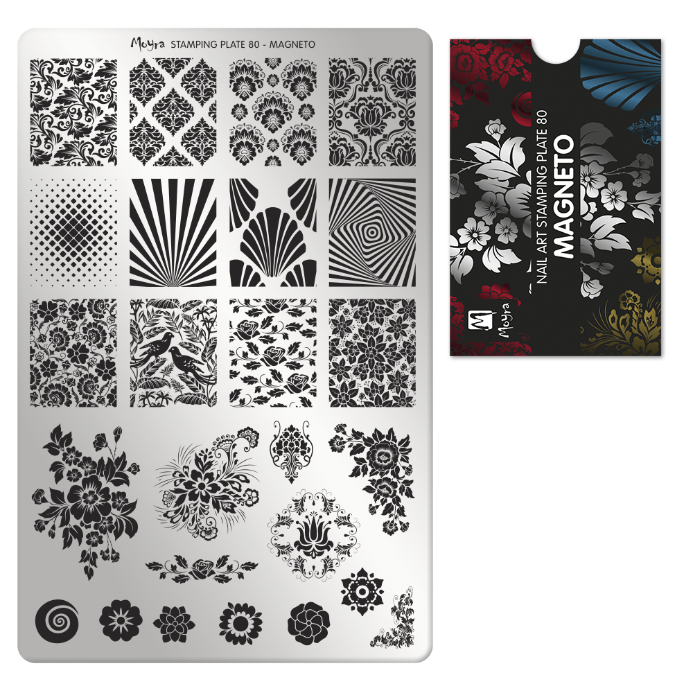 Stamping Plate 80 Magneto