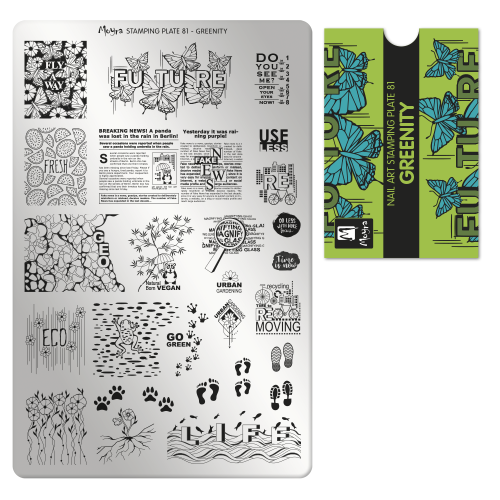 Stamping Plate 81 Greenity