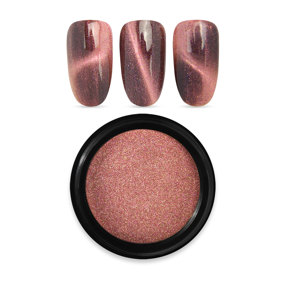 Magnetic Pigment Powder 04 Rose Gold 1g