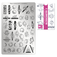 Stamping Plate 93 Blossometry 2