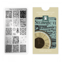 Moyra Mini Stamping Plate 107 - A Day Like This