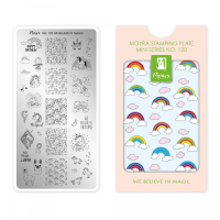Moyra Mini Stamping Plate 120 - We Believe in Magic