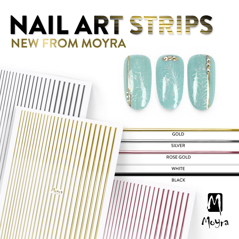 Nail Art Stripes, Dots and Chains