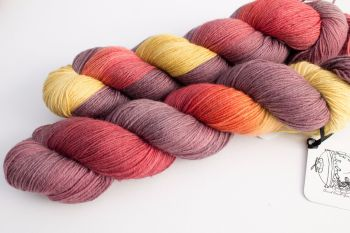 Bad Apples ~ 4ply sock