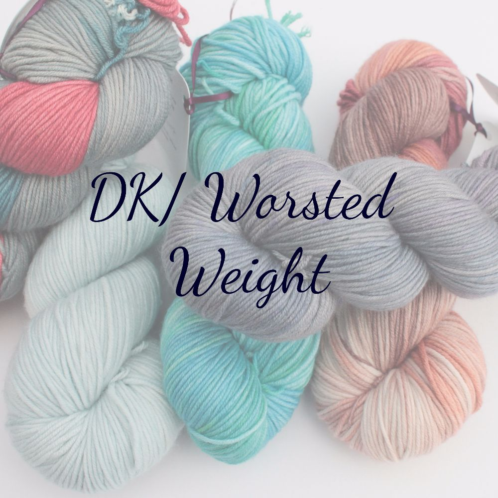 Dk/ Worsted Weight