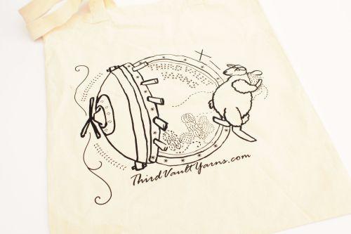 Third Vault Yarns Tote Bag