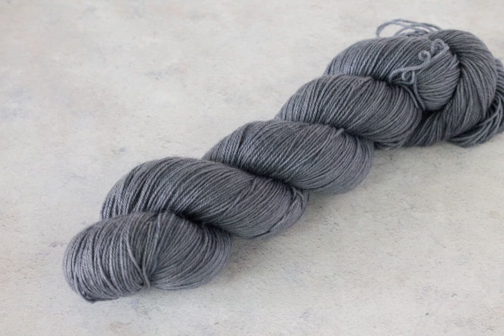 Steel sock yarn