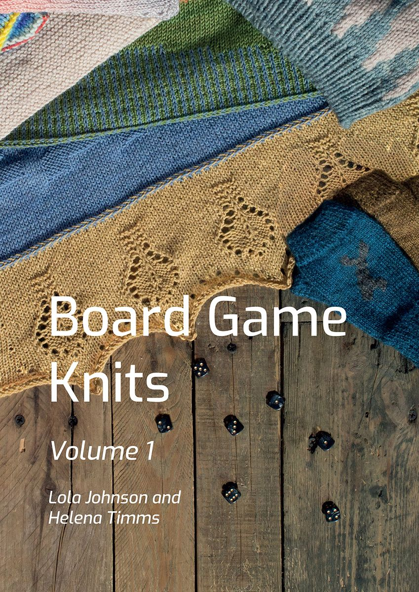 Board Game Knits vol. 1 ~  Pre Order