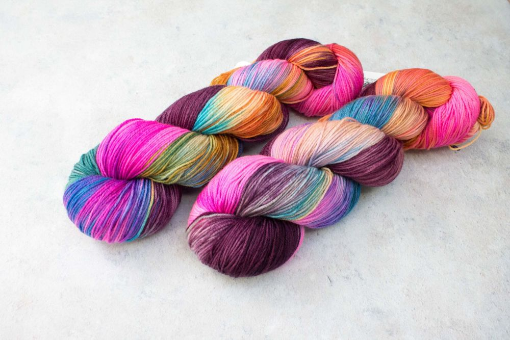 Delight went Mad ~ 4ply & sock