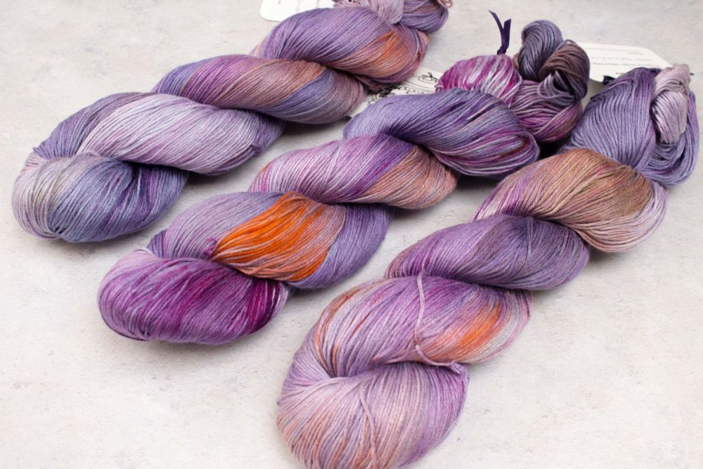 Parma Violets ~ Kaguya 4ply