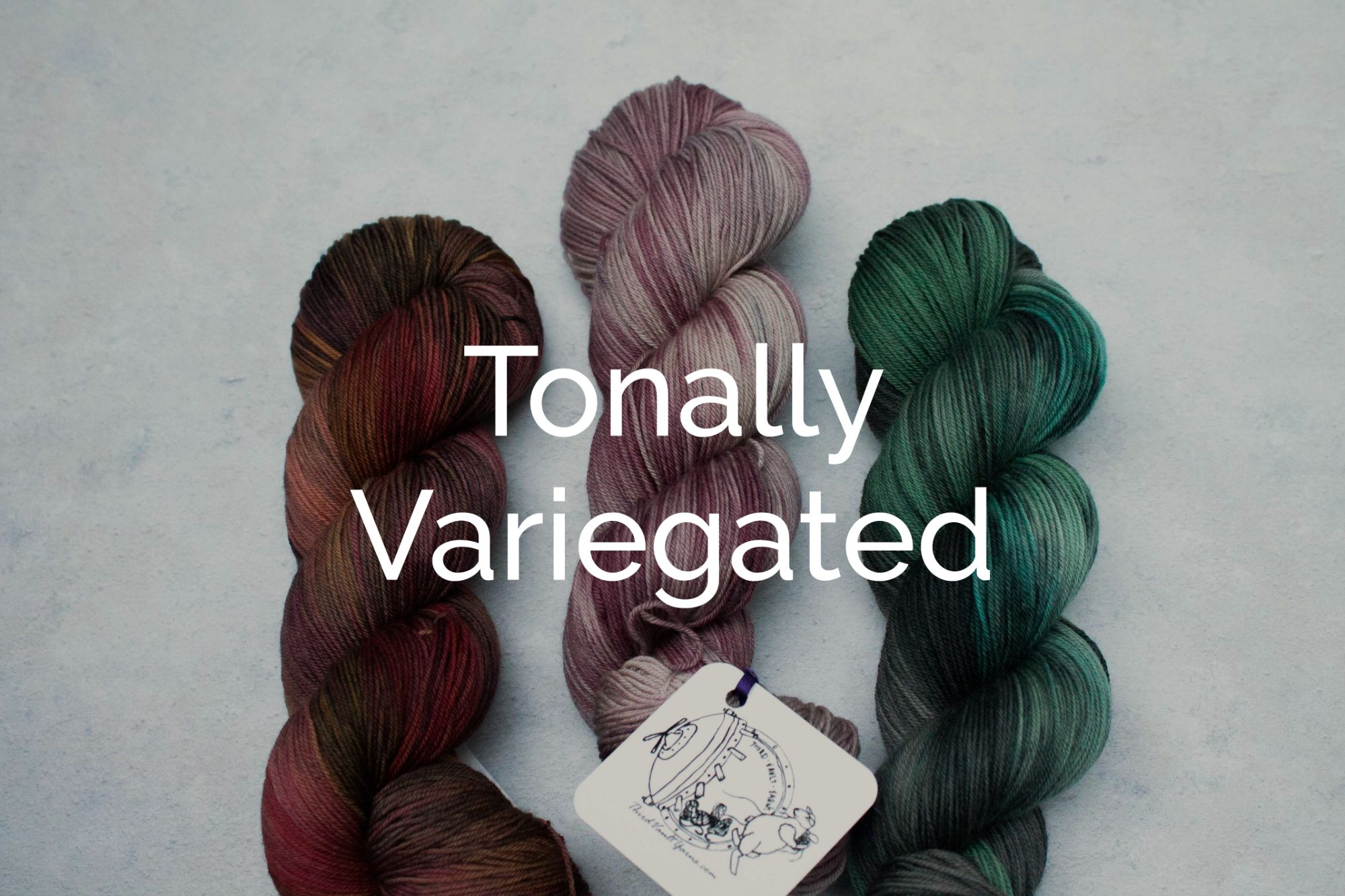 Shop our Tonally variegated yarns