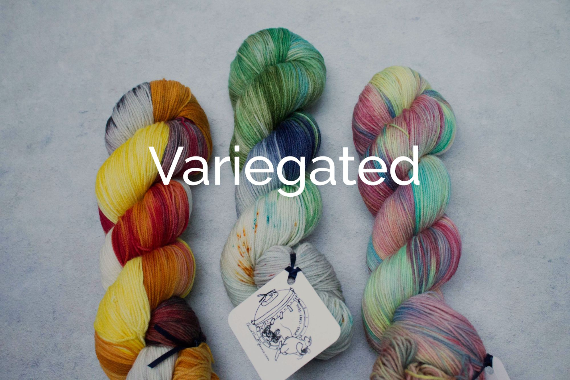 Check out the Variegated yarns section of the shop