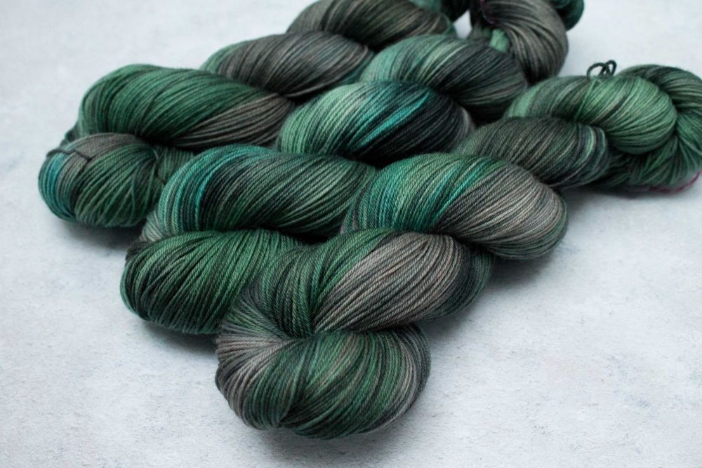 Cosmic Turtle ~ 4ply & Sock