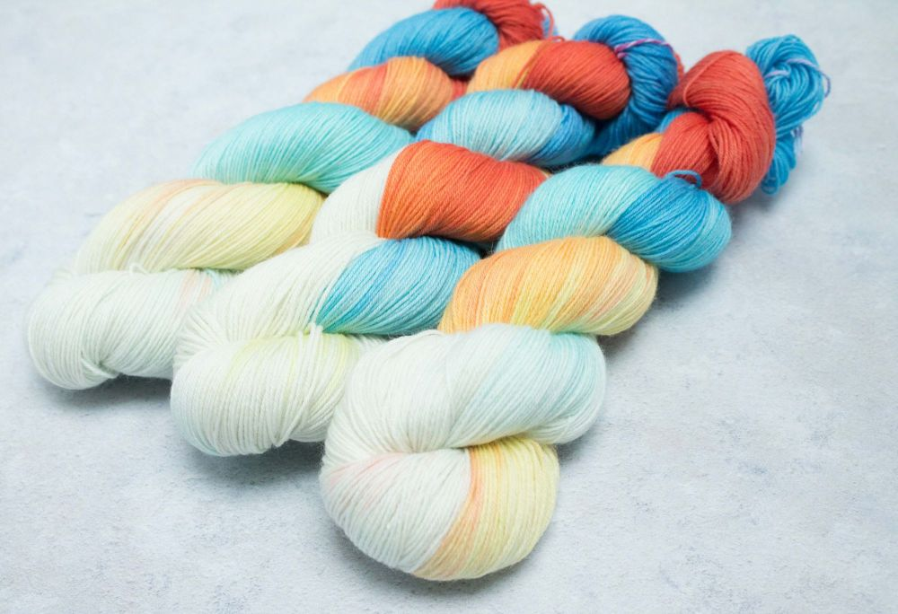 Born of Air - 4ply & sock