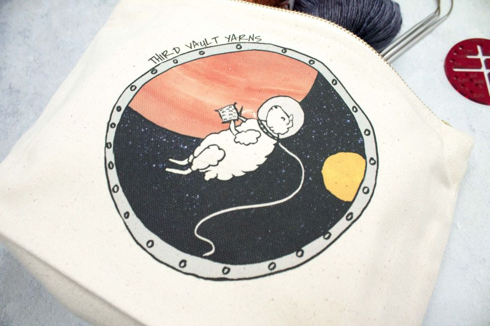 Zero G Knitting~ Project bag