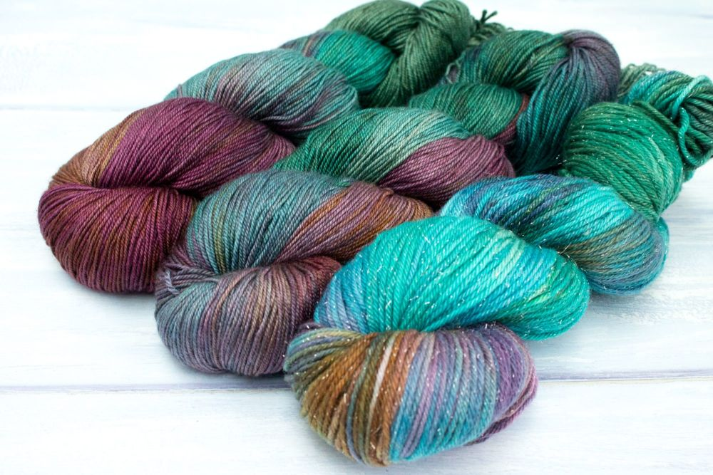 Earth Mother ~ 4ply & Dk
