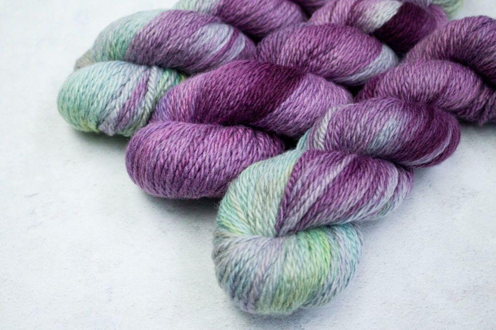 Purple Variegated ~ Chunky BFL