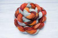Hellish Rebuke ~ Spells Collection- Self striping sock