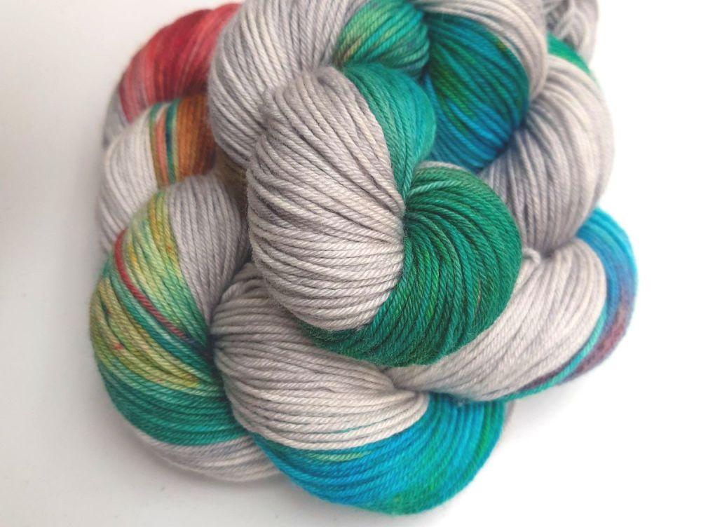 Polymorph ~ Spells Collection- Self striping sock