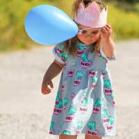 Tea Rex Smock Dress