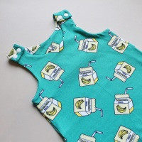 Banana Milk Romper
